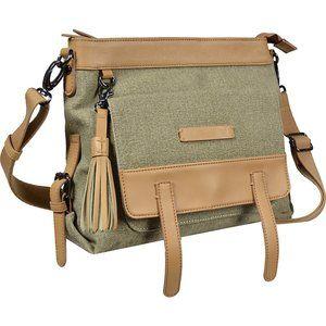 SHERPANI Ethos Willow Crossbody Bag Fern